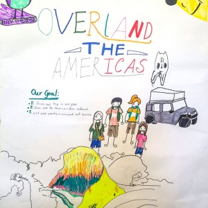 Maya's Overland The Americas Poster
