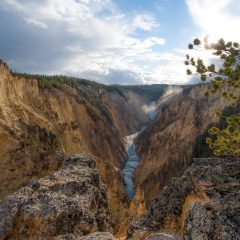 Artist Point Yellowstone National Park, MT
