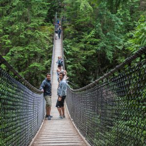 Lynn Valley Suspension Bridge, Vancouver, BC