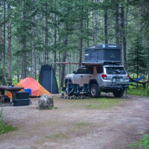 Camping at Robson Provincial Park, BC