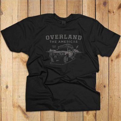 Overland the Americas Tee by Sackwear