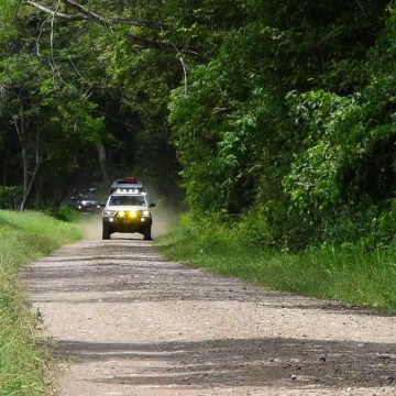 Driving Thru Santa Rosa National Park – Costa Rica, Central America