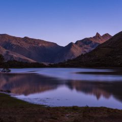 Sunrise over Laguna Negra, Sierra Nevada National Park – Buy Code VEN0008