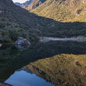 Reflection Over Laguna Negra, Sierra Nevada National Park – Buy Code VEN0018