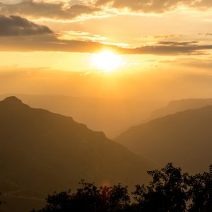 Sunset at Cañon De Chicamocha – Buy Code COL0019