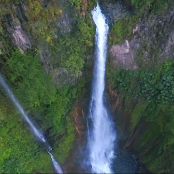 Flying Over Waterfalls – Costa Rica, Central America