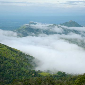 Mountain Clouds Clearing Out – Panama, Central America