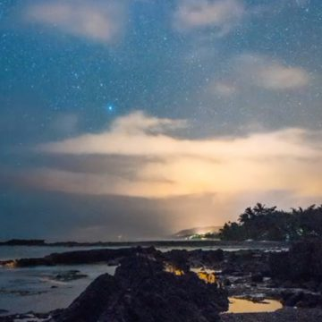 Night Timelapse In Malpais – Costa Rica, Central America