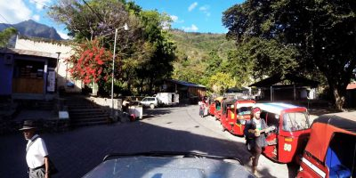 Arriving At San Marcos La Laguna – Guatemala, Central America