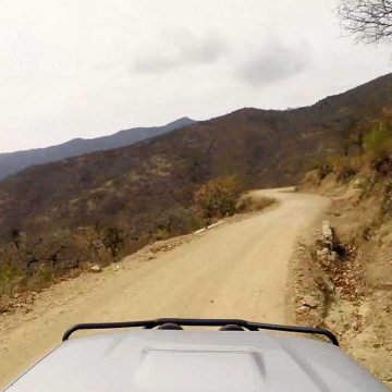 Driving Down Oaxaca's Sierra Gorda – Mexico, North America