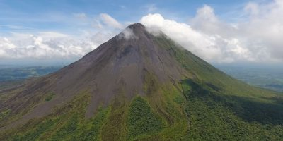 Flying Over Volcano Arenal – Costa Rica, Central America