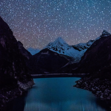 Laguna Paron Night Timelapse – Peru, South America